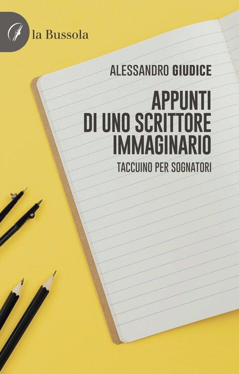 copertina Appunti di uno scrittore immaginario - 9791280317728